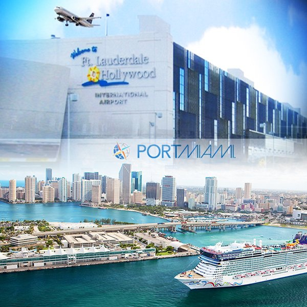 Miami Cruise Port Hotels: FORT LAUDERDALE AIRPORT TO MIAMI BEACH DOWN TOWN MIAMI OR